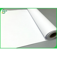 Plotter printing 80GSM White CAD Plotting Paper Roll 24inch * 150 Feet Manufactures