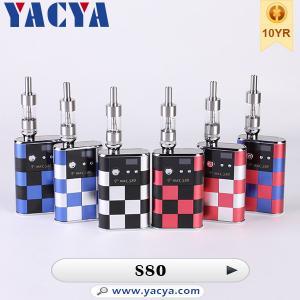 VV / VW Variable Voltage E Cigarette 3V - 5V , T-max S80 mod Manufactures