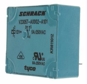 RELAY GEN PURPOSE SPDT 5A 12V V23057A 2A101 Manufactures