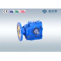 Helical Worm Gear Reducer , Flange Mounted Speed Reducer Gearbox Manufactures