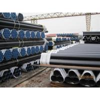SAW / ERW API 5L Line Pipe black painted , Seamless api 5l grade b pipe Manufactures