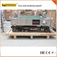 Cheap 70 - 80 M²/Hour Portable Automatic Rendering Machine No Worm Pump for sale