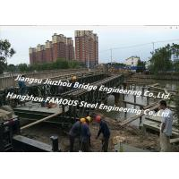 Portable Bailey Truss Bridge Portable Metal Rural Flood Disaster Damaged Repair Manufactures