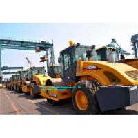 Full Hydraulic Construction Road Roller Single Drum XS143J 103Kw Euro III Manufactures