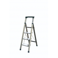 Buy cheap Aluminium Alloy 6063 1.38m 4 Tread Aluminium Step Ladder from wholesalers