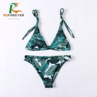Buy cheap fashion bikini 2019 custom design swimwear 2 piece swimsuit bikini girl sexy from wholesalers