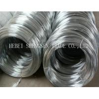 Free Sample Hot Dip Galvanized Binding Wire For Making Nail ISO 9001 Certified Manufactures