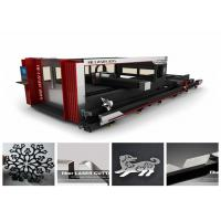 China Cnc Fiber Pipe / Tube Metal Laser Cutting Machine For Fire Control Industry on sale