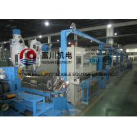 Automobile Wire / Plastic Insulating Wire Extrusion Machine With Screw Dia 60mm
