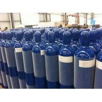 China Steel Seal High Pressure 10L / 15L / 20L Compressed Gas Cylinder For High Purity Gas on sale