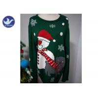 Christmas Snowman knit Pullover Sweater For Adult And Children Manufactures