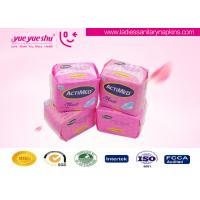 Menstrual Period Use Disposable Sanitary Napkins 240mm Length With Super Absorption Manufactures