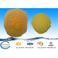 ISO BV Poly Aluminum Chloride Settling Flocculant Powder 3.5-5.0 PH PAC