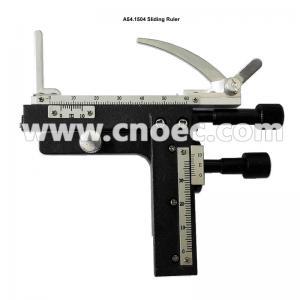 Horizontal 11.5CM Microscope Accessory Sliding Ruler  A54.1504