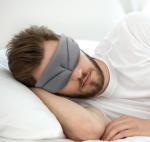 Sleeping Eye Mask Nylon 2018 high quality eyemask Russia Manufactures