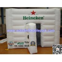 Advertising Inflatable Cube Tent / Custom Inflatable Event Tent Buliding Manufactures