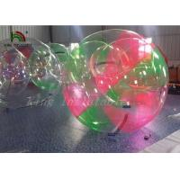 Red Green Clear Aqua Ball Inflatable Water Walking Ball for Kids , Adults Manufactures