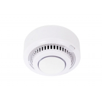 China Tuya Smart App Control Photoelectric Optical WIFI Smoke Detector for Home Security on sale