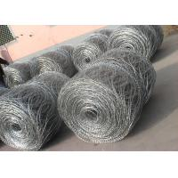 Hot - Dipped Galvanized High Tensile Barbed Wire 10BWG x 12BWG Per Roll Manufactures