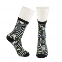 Polyester/ Spandex /Unisex  OEM Service  Custom Made Size 3D-Printing Socks Manufactures
