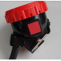 ATEX certified LED coal miners cap lamp, 6 Ah corded mining headlight for sale Manufactures