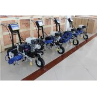 Traffic Sign Zebra Crossing Road Line Marking Machine Gasoline Powered 5.5HP 4.0L/Min Manufactures