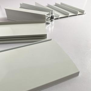 6061 Structural Aluminum Extrusion Profiles Sandblasting Manufactures