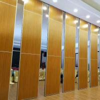 China Sound Barrier Conference Hall Sliding Folding Walls System / Movable Partition Wall on sale