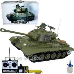 Toys R/C Smoking Tank-Snow Leopard (RZH52029) Manufactures