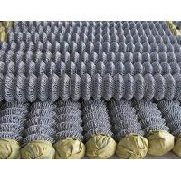 Multifunctional PVC Coated Wire Fencing , 8 Foot Chain Link Fence For Construction Manufactures