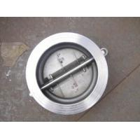 Cheap Valve Check 150MM 16BAR Wafer Type, Double Door, Full S/S Stainless Steel for sale