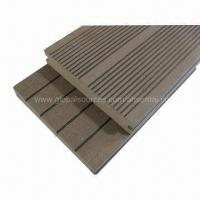 Buy cheap Deck boards, 100% recyclable and recycled to save forest, weather-resistant from wholesalers