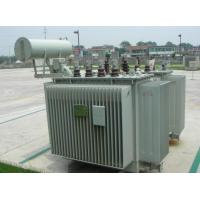 S11 10 kV 30 KVA Transformer 3 Phase , Low Noise Oil Distribution Transformer Manufactures