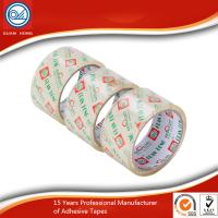 Cheap Strong Adhesive Crystal Clear Tape Single-Sided Sticky Pressure Sensitive for sale