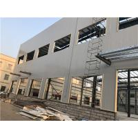 Prefabricated Light Steel Structure Building Painting / Galvanizing Manufactures