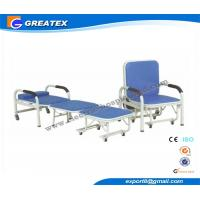 Mult - Purpose Hospital Accompany Sofa Foldable Chair with Six silent castors Manufactures
