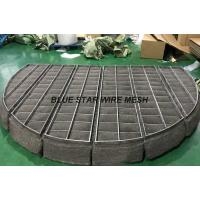 High Toughness Knitmesh Demister , Heteromorphic Mist Eliminator Pads Durable Manufactures