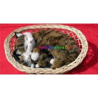 Life-like fur animals,Synthetic fur animal decoration Manufactures