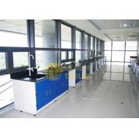Glare surface / matte surface laboratory countertops 1.5 meter for university Manufactures