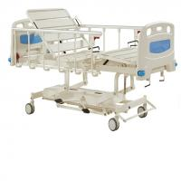 Durable Long Life Manual Hospital Bed Five Functions , Hydraulic Care Bed Nursing Care Bed Manufactures
