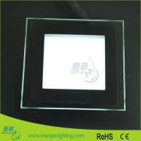 High Bright Shop Flat Panel Led Lighting System 100×H38MM , VDE ETL Listed Manufactures