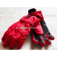 2017 Cool Cheap Girls printing waterproof ski gloves 12*24cm 135g 100%polyester Manufactures