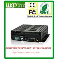 IR Remote Control SD MDVR 6ch Alarm input With Two 64GB SD Slots digital watermark Manufactures