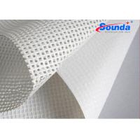 260g/sqm pvc mesh banner for digital printing materials Polyester fabric for lager formate Manufactures