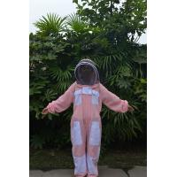 Pink Vented Bee Uniform Beekeeping Protective Clothing With YKK Zipper Manufactures