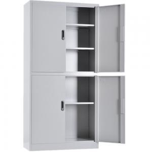 RAL Knock Down Metal 900mm 4 Doors Filing Cabinet Manufactures