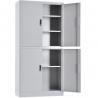 Buy cheap RAL Knock Down Metal 900mm 4 Doors Filing Cabinet from wholesalers