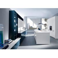 Quality Villa Projects MDF Kitchen Cabinets / Cupboards With Moisture Proof Board for sale