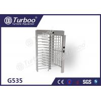 Full Height Turnstile Gate Stainless Steel Turnstiles Access Control System Manufactures