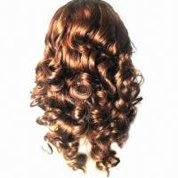 """18"""" Lace Front Brazilian Virgin Hair Wig, Spiral Curl for Black Women, In All Texture Lengths/Colors Manufactures"""
